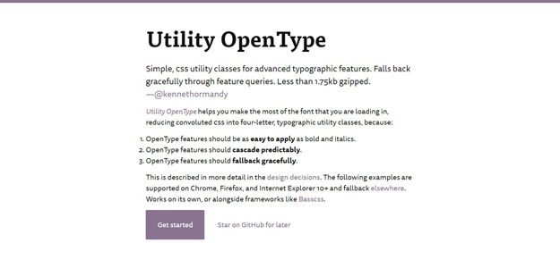 utility open type