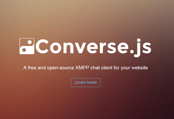 Converse.js – 开源的 XMPP 聊天客户端